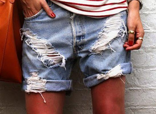 Modne blogerke ovog leta nose: Teksas šorts