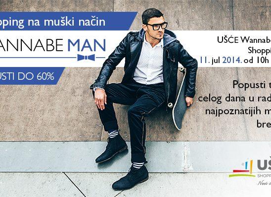 Ušće Wannabe Man Shopping Day- 11. jul 2014.
