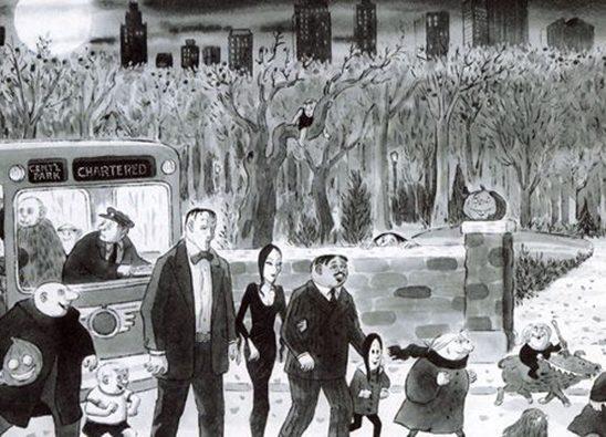 Čarls Adams: Majstor ilustracija