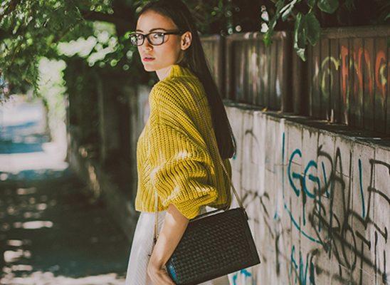 Modni predlog: Žuta i bela