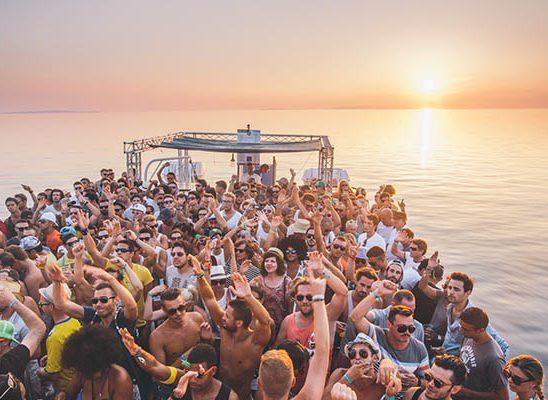 Boat žurke na Sonus festivalu