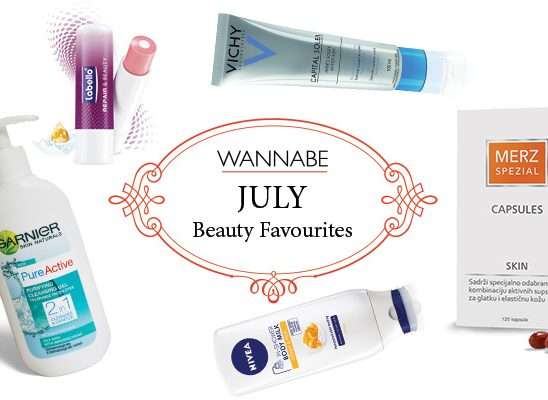 July Beauty Favourites