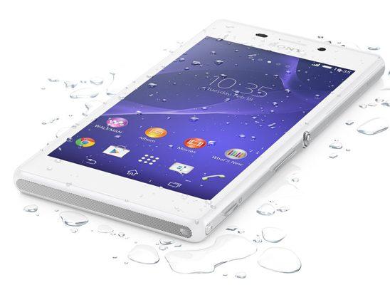 Xperia™ M2 Aqua, vodootporni pametni telefon za svakoga