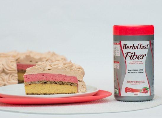 Herbafast fiber recept: Jagodica tortica