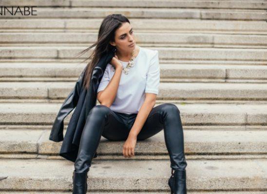 Safran modni predlog: Večna kombinacija crnog i belog