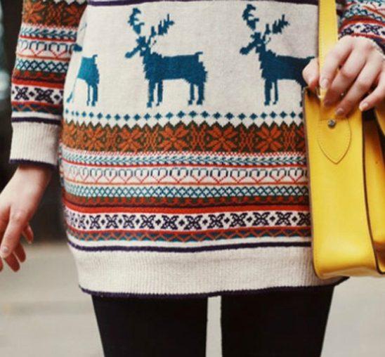 Šta obući ove nedelje: Džemperi sa novogodišnjim motivima