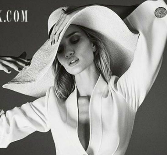 "Rouzi Hantington-Vajtli na naslovnici britanskog ""Elle""-a"