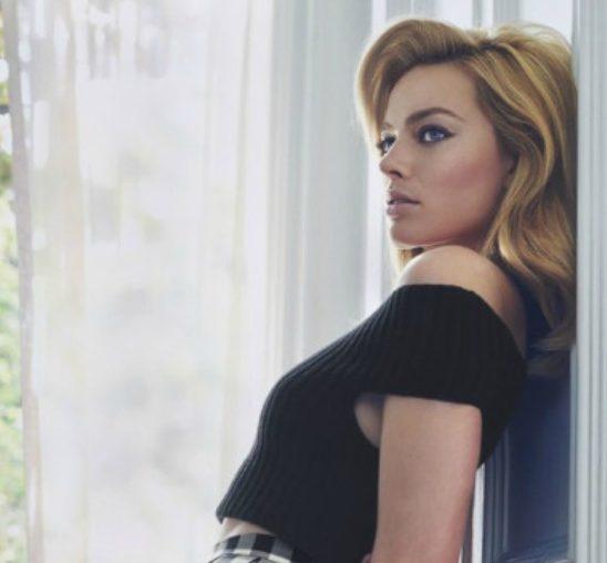 """Margot Robi na naslovnici magazina """"Marie Claire"""""""