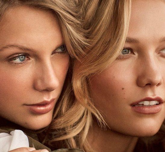 "Tejlor Svift i Karli Klos na naslovnici magazina ""Vogue"""