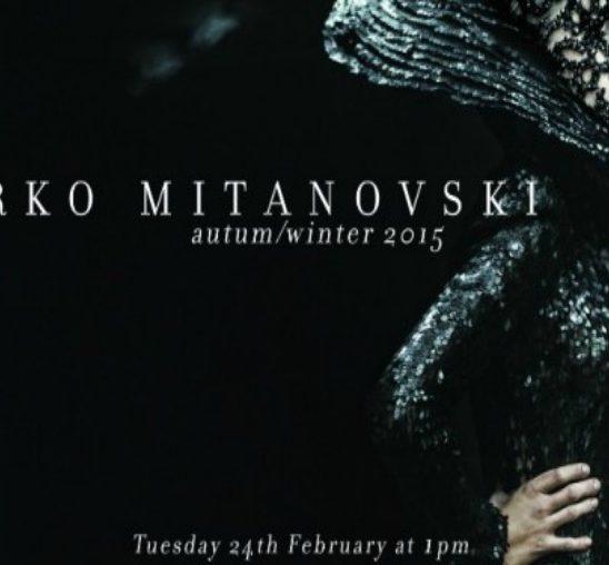 Neobična revija Marka Mitanovskog na Nedelji mode u Londonu