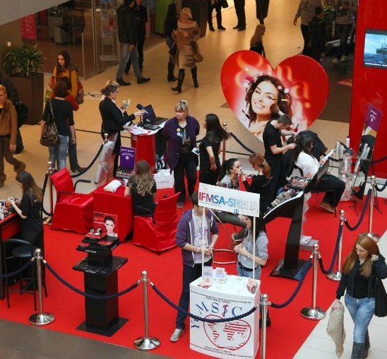 Ušće Shopping Centar: Besplatni tretmani za dame