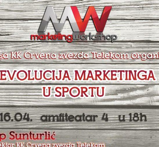 """Tribina """"Revolucija marketinga u sportu"""""""