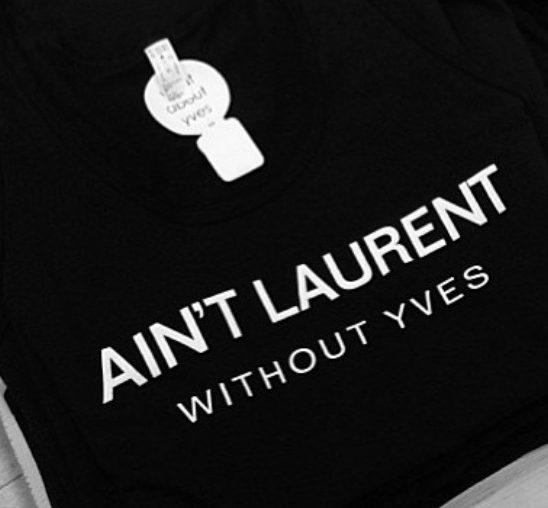Modna kuća Yves Saint Laurent tuži brend What About Yves