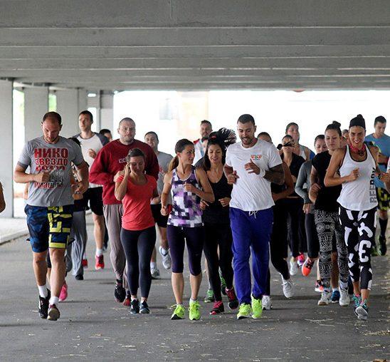 Besplatni javni fitnes treninzi širom Beograda