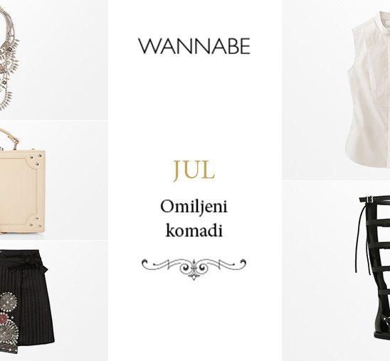 Omiljeni modni komadi za jul