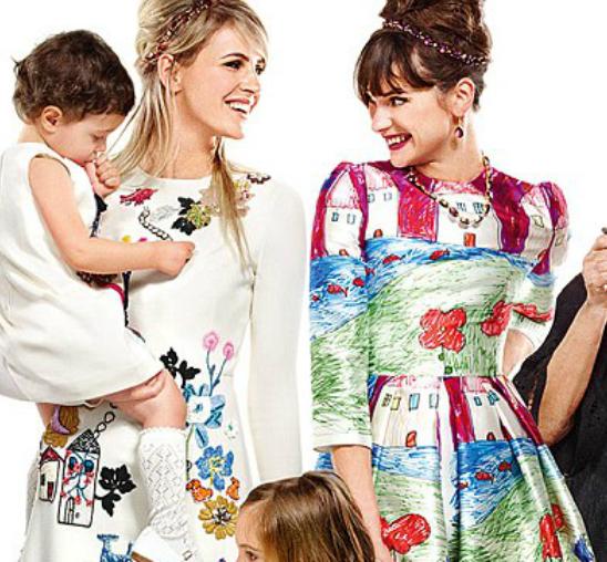 Devojčica napravila repliku Dolce & Gabbana haljine
