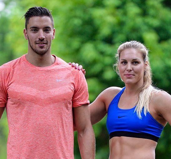 Vlada i Milica spremni za We Run Belgrade trku