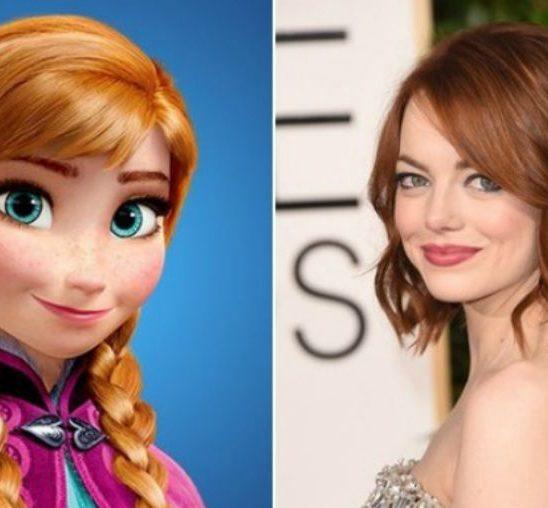 Poznate dame koje neverovatno liče na Diznijeve princeze