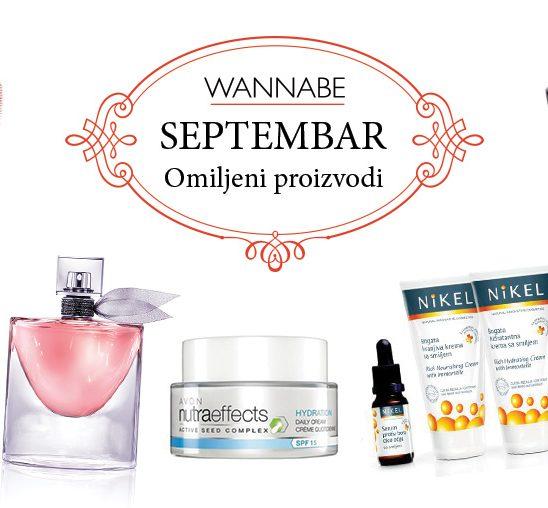Omiljeni proizvodi za septembar
