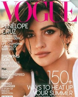 "Penelope Cruz za ""Vogue US"" jun 2011."