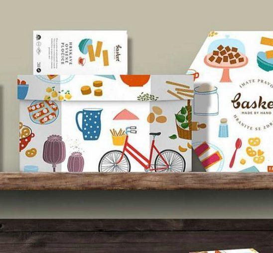 Basket Gift Box: Za svačiji ukus