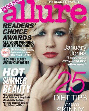 "January Jones za ""Allure"" magazin"