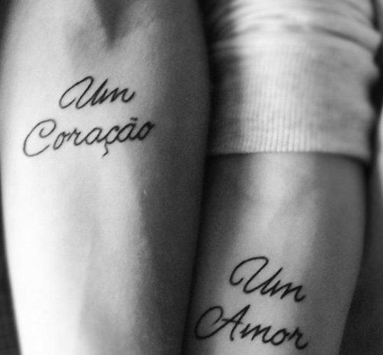 Interesantne tetovaže za nju i njega