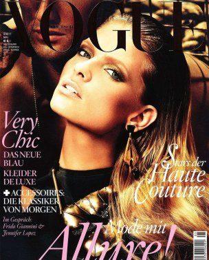 "Julia Stegner za nemački ""Vogue"""