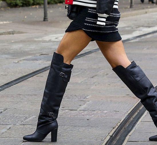 5 načina da nosite čizme IZNAD kolena