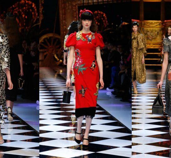 Dolce & Gabbana: Revija za MODERNE princeze