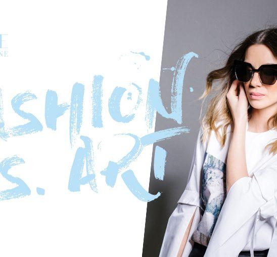 Wannabe editorijal: Fashion Vs. Art
