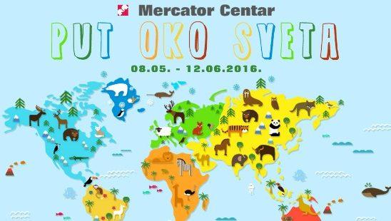 """Počeo serijal dečijih predstava """"Mercator: PUT OKO SVETA"""""""