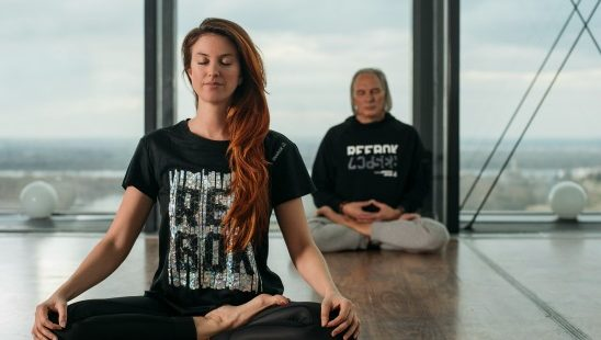 Reebok X-Challenge yoga trening na krovu Beograda