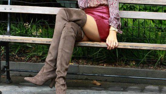 #FashionInspo: Kako da stilizuješ čizme iznad kolena