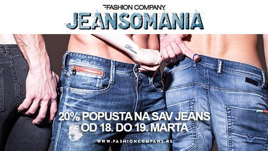 Vreme je za vikend Jeansomaniju!