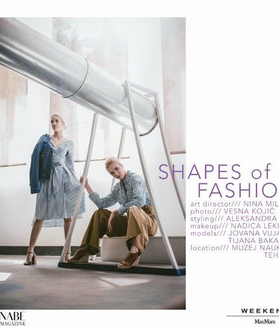 Wannabe editorijal: Shapes Of Fashion