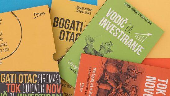 Facebook giveaway: Imaš priliku da osvojiš knjige koje će te naučiti kako novac da radi za tebe