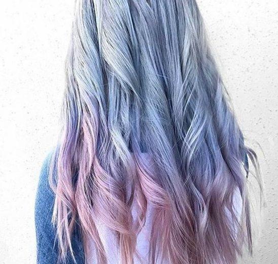 Mermerna kosa je novi trend u farbanju i – zapravo je kul!