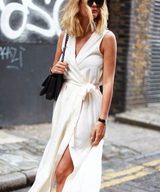 #FashionInspo: Kako da nosiš haljinu na preklop