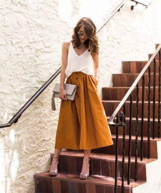 #FashionInspo: Sa čim da kombinuješ midi suknju?