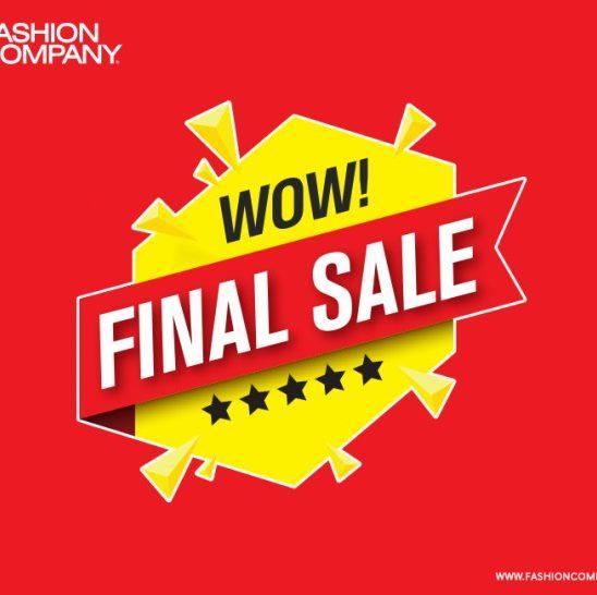 Finalno sniženje u Fashion Company radnjama!
