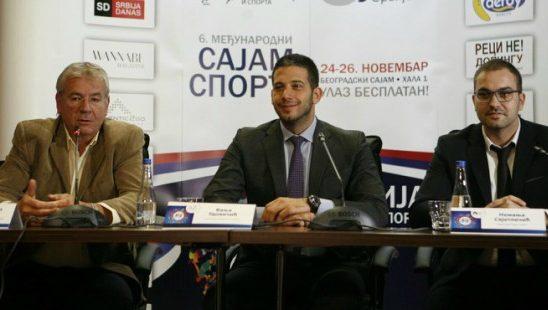 Sajam sporta od 24. do 26. novembra na beogradskom sajmu