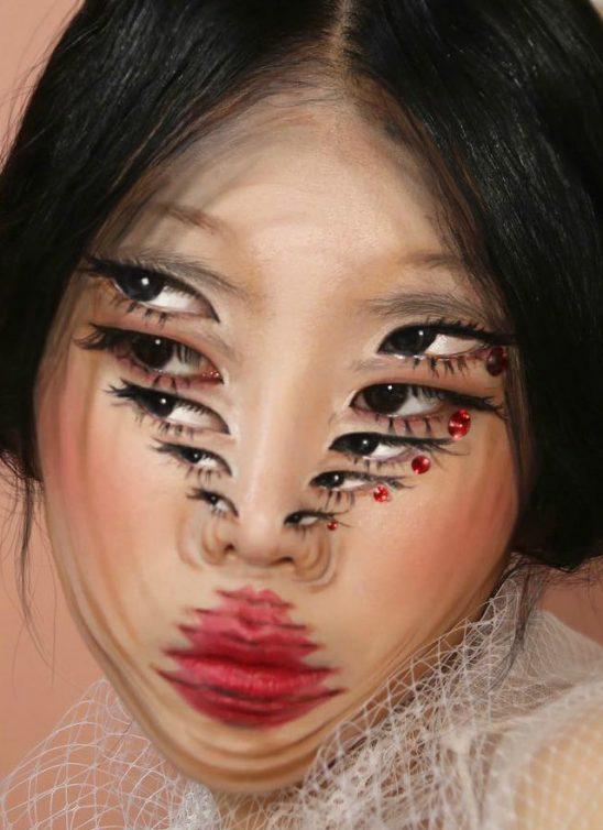 Fascinantne optičke iluzije – šminka koja se igra sa tvojim čulom vida