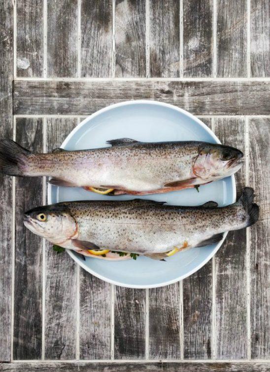 Riba pečena na pari