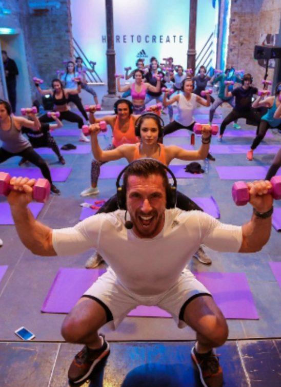 Više od 500 žena na Adidas trening danu