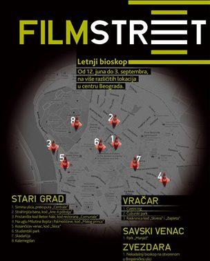 Filmstreet – Ponovo radi letnji bioskop!