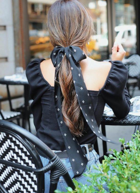 Instagram otkriva: 7 efektnih načina da maramom ukrasiš kosu