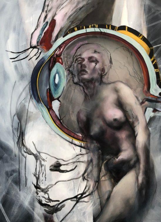 """Natalija, Una i Jovana, o izložbi """"Figura kroz misao"""" i odnosu između slikarstva i fotografije"""