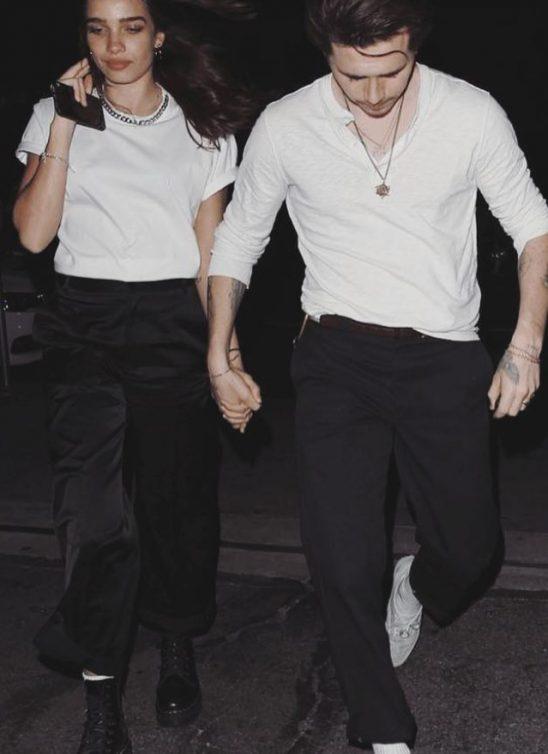 Modni #couplegoals: Brooklyn Beckham i Hana Cross