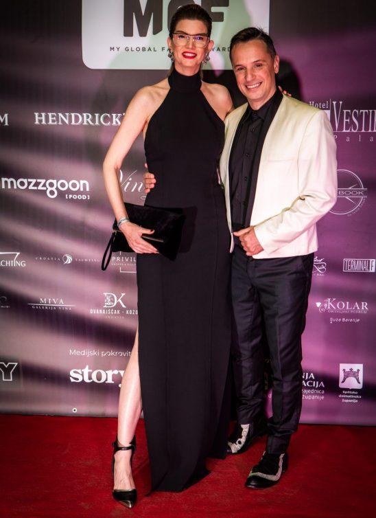 Nenad Radujević i Jelena Ivanović dobili važna hrvatska modna priznanja u Splitu!